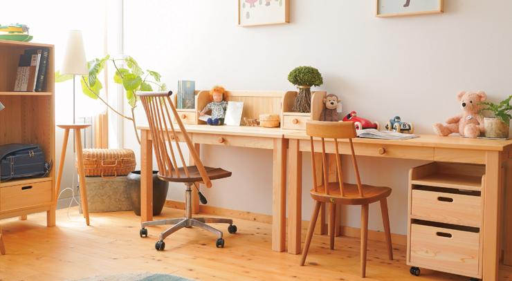 【国産材】キッズ家具の製造&直接販売