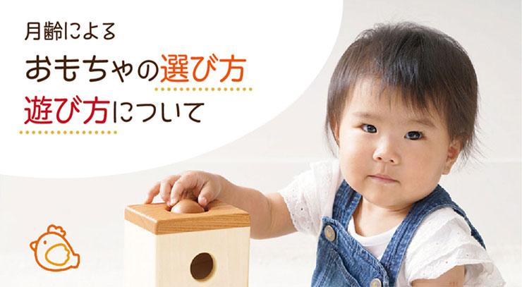 おもちゃの選び方遊び方