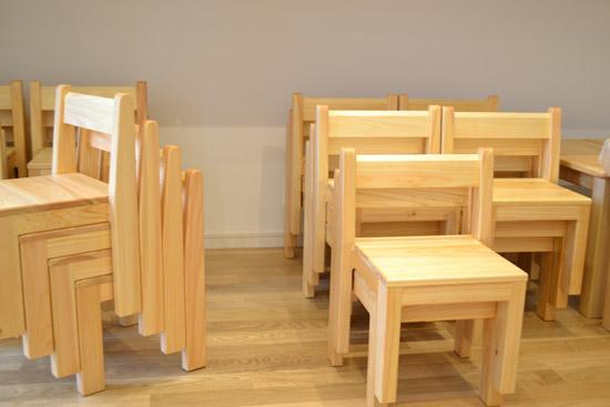 子どもいす 木製