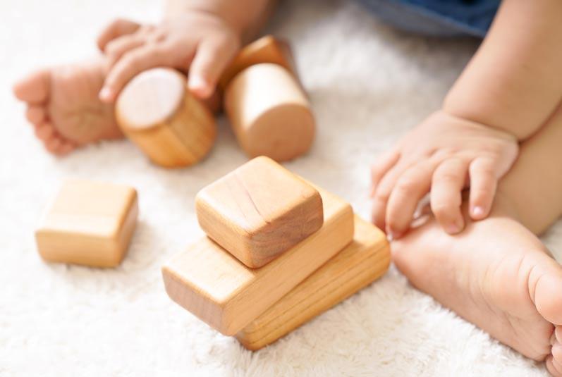 木のおもちゃ 積み木