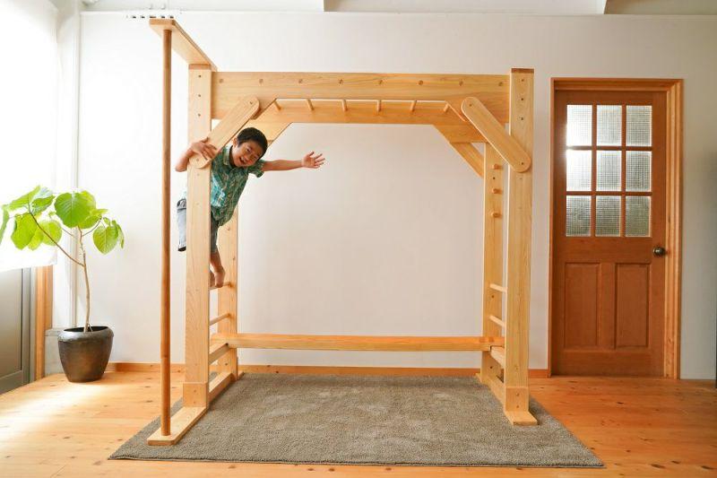 木製室内用うんてい
