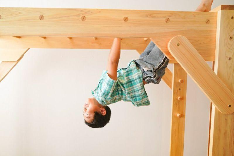 木製室内用 雲梯