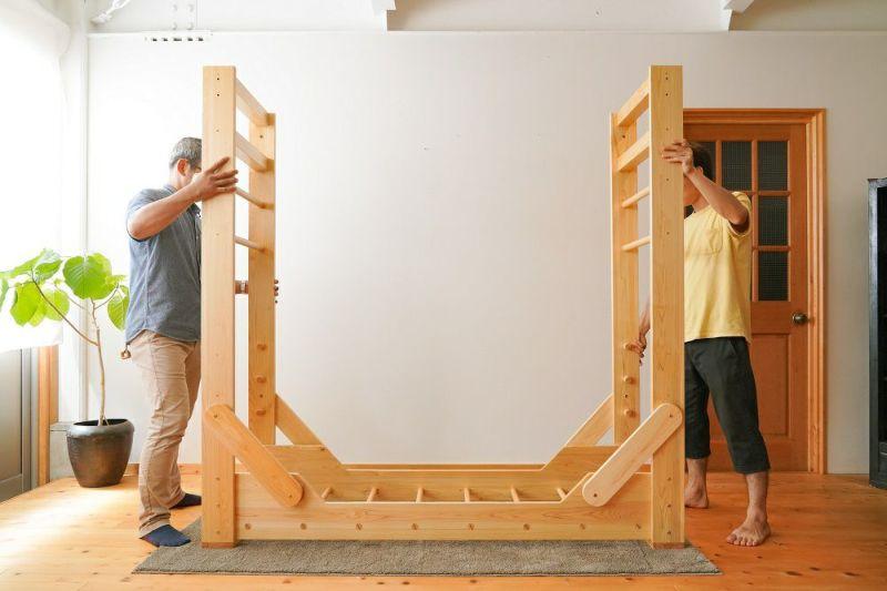 室内うんてい組み立て方5
