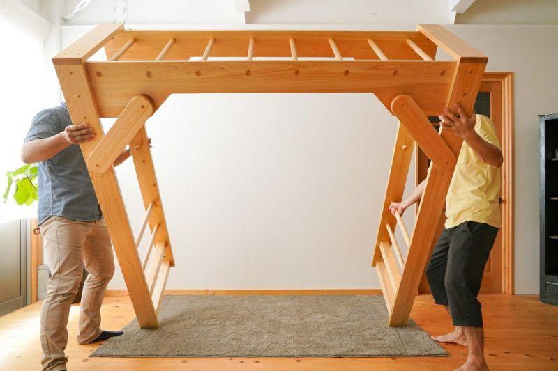 室内うんてい組み立て方6