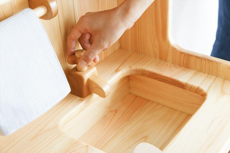 ままごとキッチン流し台