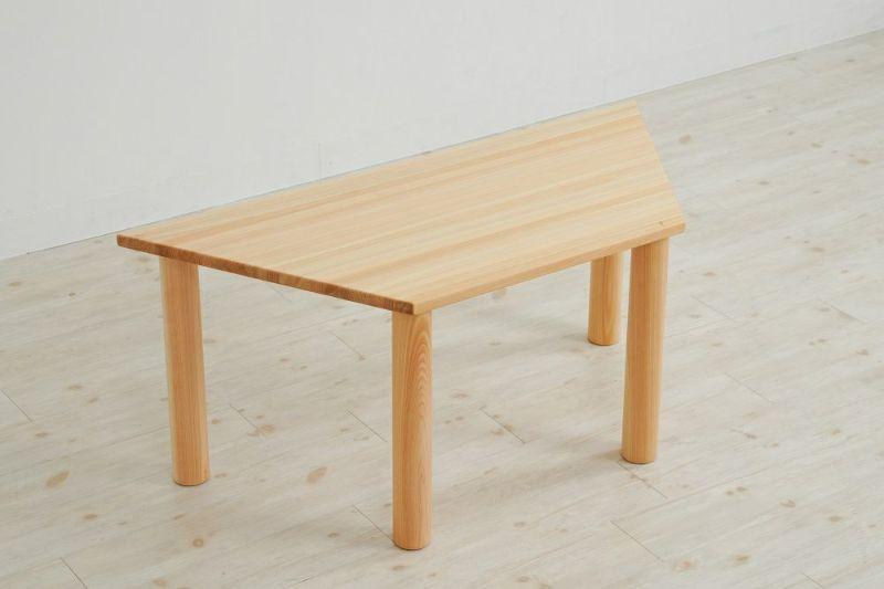 台形型テーブル