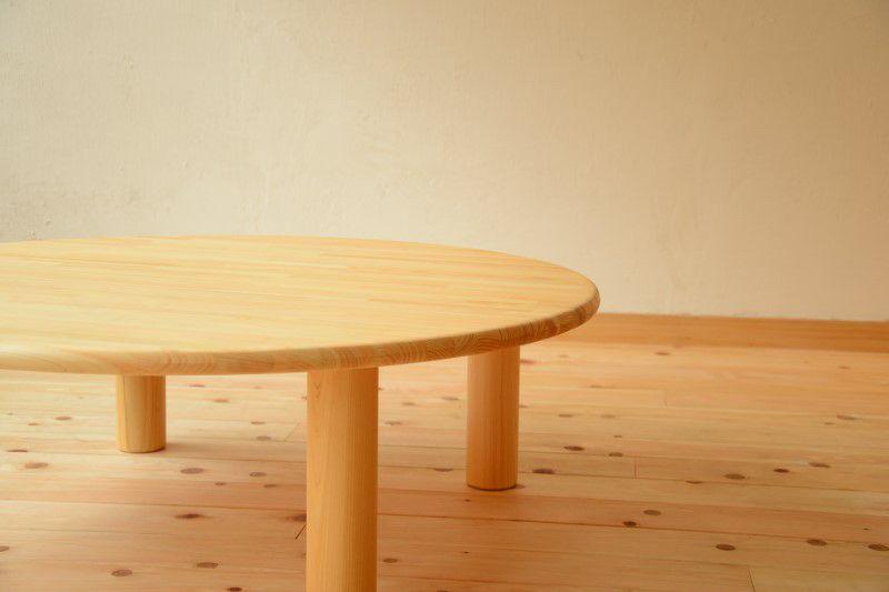 丸テーブル×変化いすセット