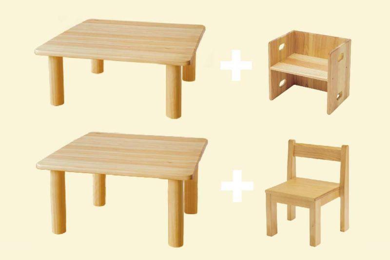 おすすめキッズテーブルと子供椅子のセット